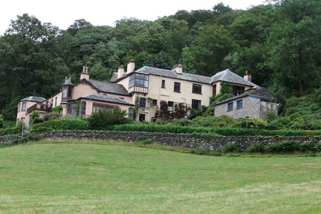 Brantwood - home of John Ruskin
