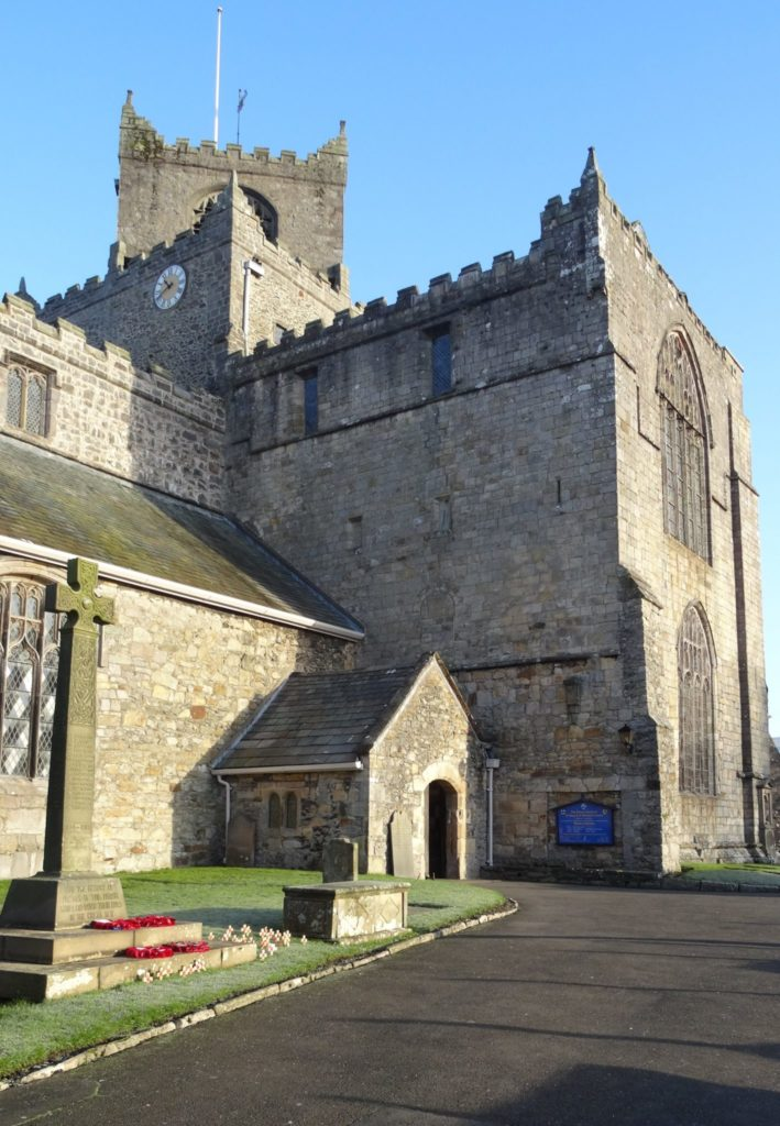 Bill Bryson and Cartmel Priory