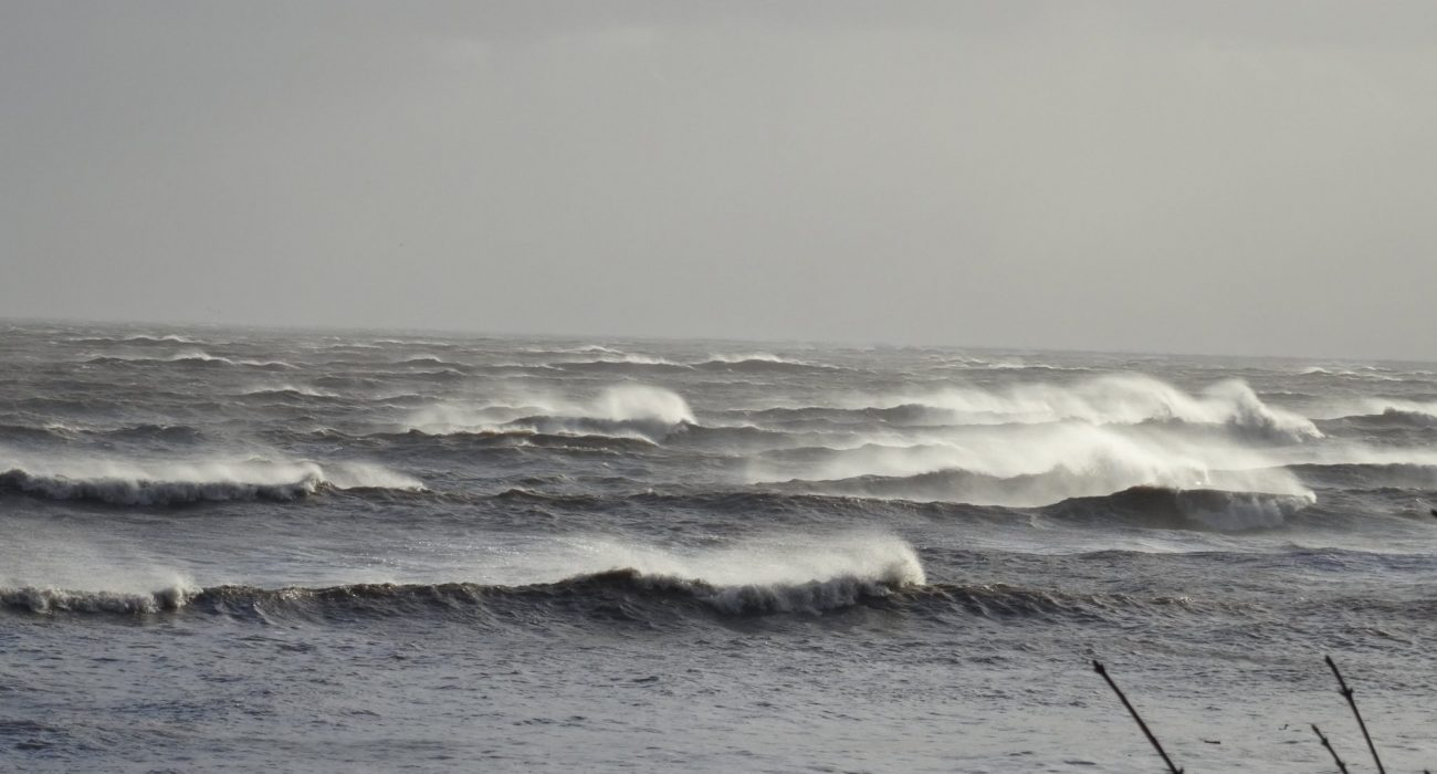A Wild Day in Morecambe Bay