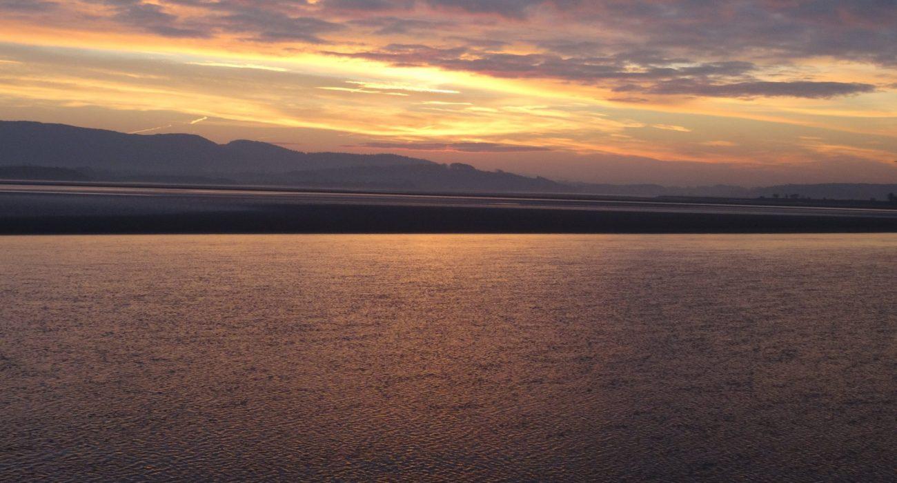 A Colourful Morecambe Bay Sunrise