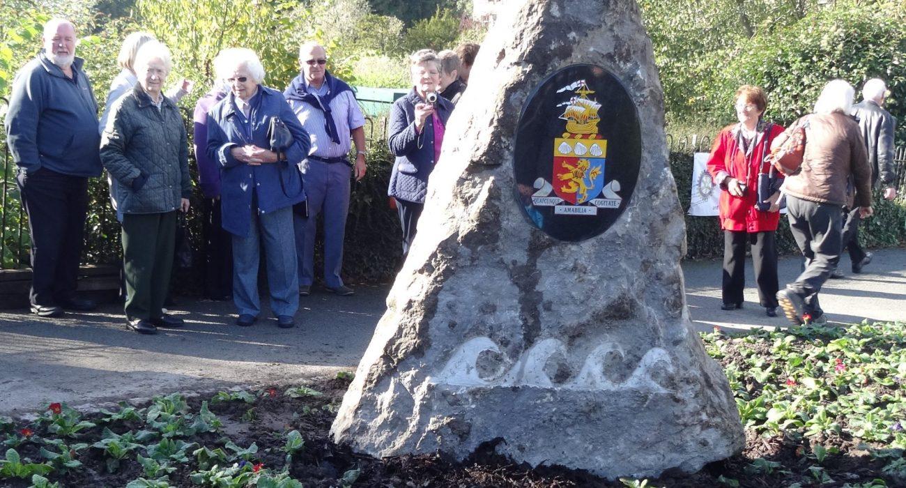 New Slate Monolith in Grange: