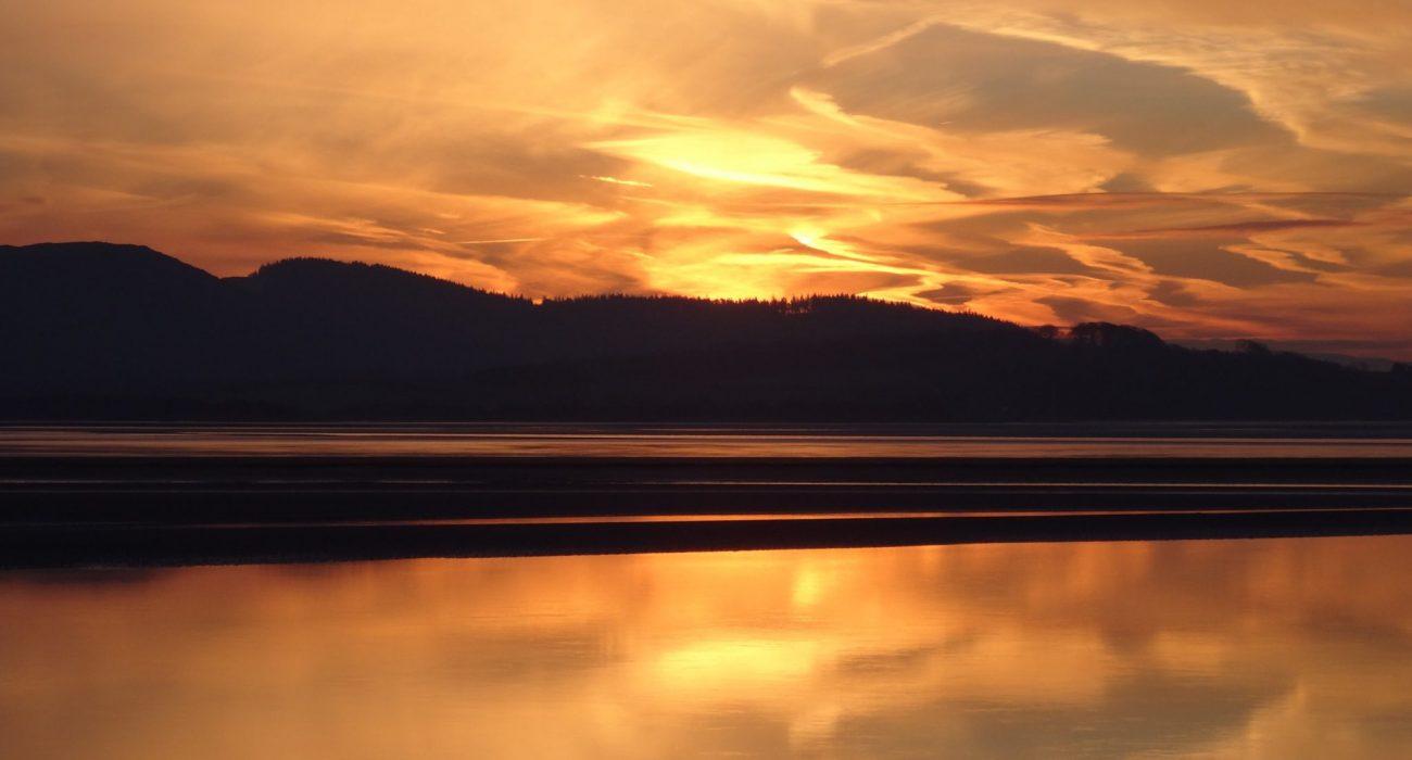 A Spectacular Greenodd Sunrise